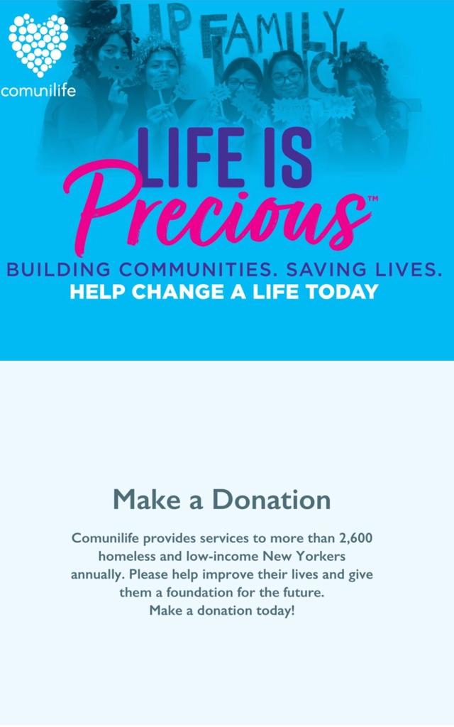 Make a donation Module